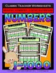 Numbers Bundle - Numbers 1 to 1000 - Set 2 - 3rd-4th Grade (Grades 3-4)