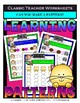 Patterns Bundle - Learning Patterns - Set 1 - Kindergarten 1st Grade (Grade 1)