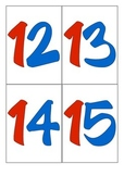 Numbers Cards - 0 - 23