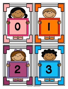 Numbers Chart: 0-5 (Dice and Tally Marks) (Haitian Creole) (Haiti)