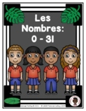 Numbers Chart: 0-5 in English and Haitian Creole (Tally Marks) (Haiti)