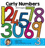Numbers Clip Art