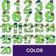 Numbers Clip Art -Cactus Numbers 0-20 {jen hart Clip Art}