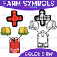 Numbers Clip Art - Farm Math & Numbers {jen hart Clip Art}