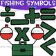 Numbers Clip Art - Fishing Math & Numbers {jen hart Clip Art}