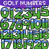Numbers Clip Art - Golf Numbers & Symbols {jen hart Clip Art}