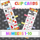 Number Clip It Cards