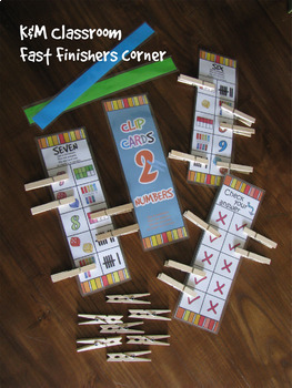 Numbers 1-10 Clip Cards