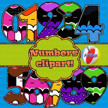Numbers Clipart. Free!