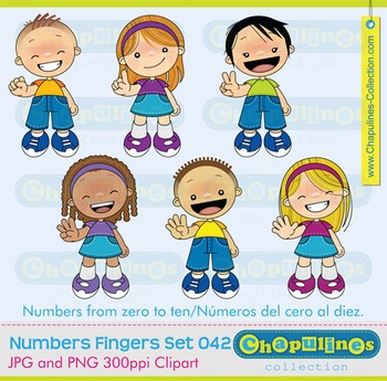 Numbers Clipart Kids