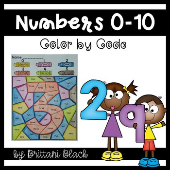 Numbers~ Color by Code