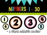 Numbers - Colorful!