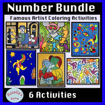 Numbers Coloring Activity