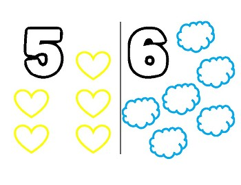 Numbers Coloring Book