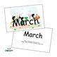 SnapWords® Numbers, Colors, Days, Months & Seasons Teaching Cards