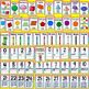 Numbers Colors and Shapes Posters