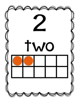 Numbers, Colors, and Shapes (poster pack)