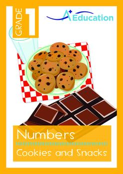 Numbers - Cookies and Snacks - Grade 1