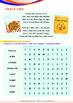 Numbers - Cookies and Snacks (II) - Grade 1 (with 'Triple-