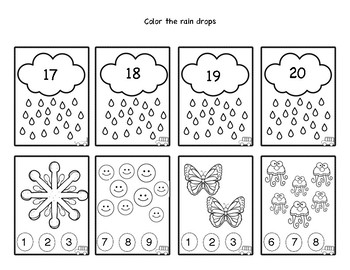 Numbers & Counting Flash Cards