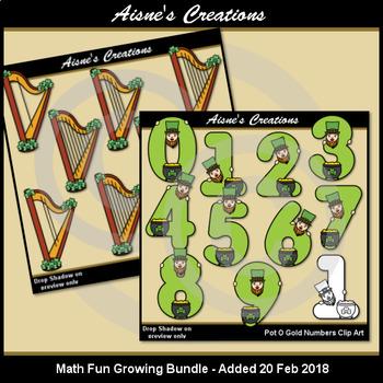 Math Fun Holidays Growing Bundle