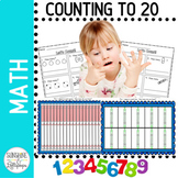 Numbers Counting Objects 1-20