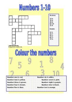 Numbers Crossword 1