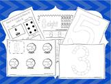 Numbers Curriculum Download. Preschool-Kindergarten. Worksheets and Activities
