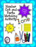 Numbers Cut and Paste Matching Activity