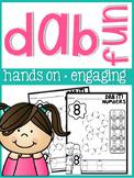Numbers Dab it Fun 1-10