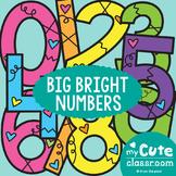 Numbers Display - Big Bright Numbers