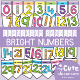 Numbers Display - Bright Numbers 0-30 Banner