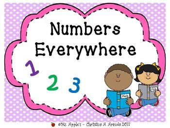 Numbers Everywhere 1-10