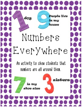 Numbers Everywhere!! My life in numbers!!