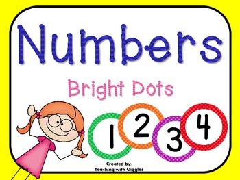 Bright Numbers FREEBIE