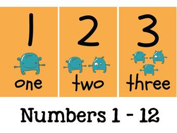 Numbers Flas Cards