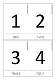 Numbers Flashcards 1-10