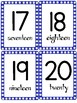 Numbers Flashcards 1-20