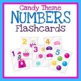 Numbers Flashcards, Counting 1-10, Printable Math Cards, Q