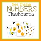 Numbers Flashcards, Printable Math Activity, Quiet Book, C