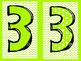 Numbers ~ Fun, Bright, Polka Dot, Chevron