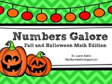 Numbers Galore:  Fall and Halloween Math Edition