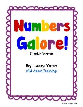 Numbers Galore-Spanish