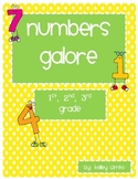 Numbers Galore Unit