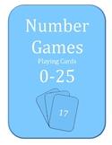 Numbers Games 0-25
