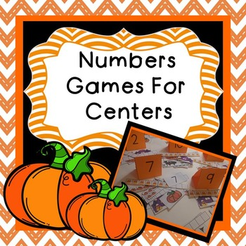 Numbers Games For Centers