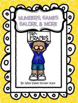 Numbers, Games Galore, & More-Kindergarten/Common Core