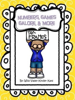 Numbers, Games Galore, & More-Kindergarten/Common Core