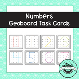 Numbers Geoboard Task Cards