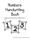 Numbers Handwriting Packet (Common Core)